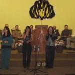 TG participa de culto em homenagem ao dia do soldado