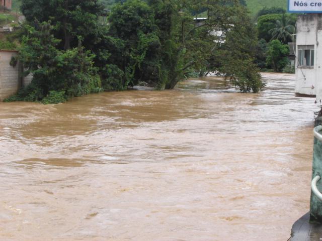 Chuvas em Carangola