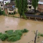Internautas enviam imagens das chuvas em Manhuaçu e região