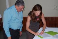 Secretária de Estado de Turismo assina convênio em Alto Caparaó
