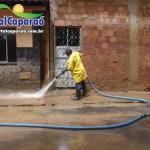 Começa a limpeza em Manhuaçu