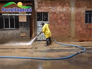 Limpeza em Manhuaçu