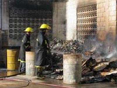 Incêndio criminoso destrói Usina de Lixo de Manhumirim