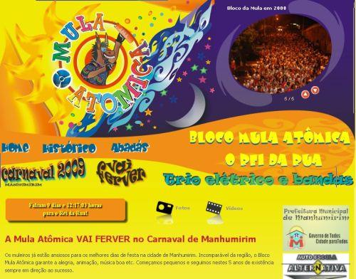 2009 Carnaval quente em Manhumirim