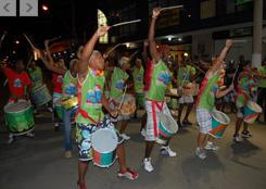 Carnaval em Itaperuna recebeu nota 10