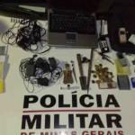Policia Militar de Carangola prende autor de vários furtos.