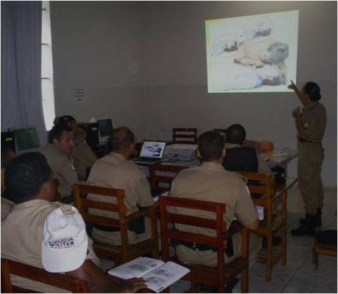 Policiais Militares passam por mais um treinamento