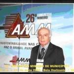 Prefeito de Carangola Participa do 26º Congresso Mineiro de Municípios