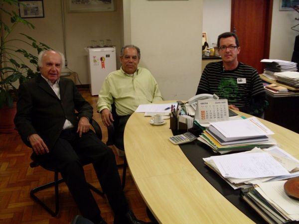 Prefeito de Carangola e Secretários participam em BH de decisões importantes para o município.