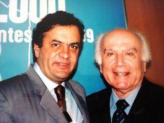 Governador Aécio Neves e prefeito Dr. Fernando Costa