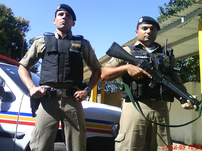 Sd Luiz e Sgt Vasconcelos