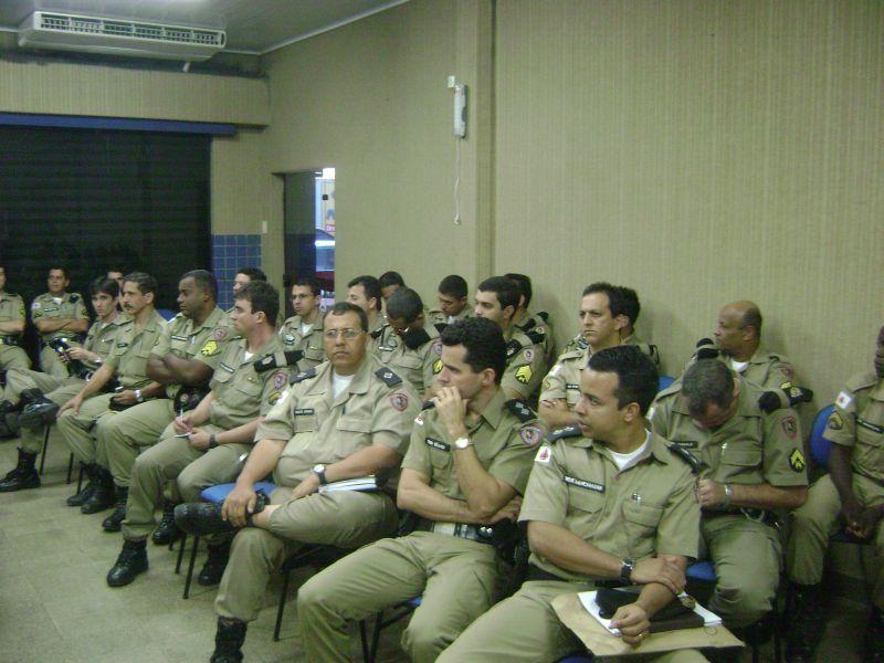 Reunião do IGESP em Muriaé aponta redução de crimes violentos na área do 47º Batalhão da Polícia Militar.