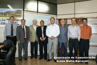 Fabiano, Sebastião Costa, Dr.Fernando, Candinho, Sebastião Donizete, Lauro, Flavinho e Bite