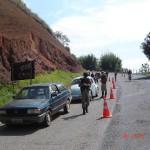Operação de prevenção da Policia Militar de Carangola.