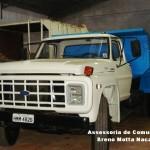 Prefeitura de Carangola realiza reforma de caminhão
