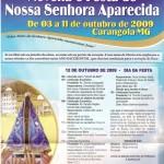 Novena e Festa de Nossa Senhora Aparecida 03 a 12/10/2009