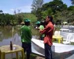 Campeonato atrai pescadores da Região.