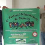 Festival de Capoeira será neste domingo em Manhuaçu