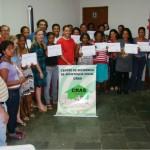 Mulheres pedreiras – curso profissionalizante oferece oportunidade para 20 alunas