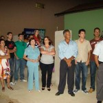 Familiares do Homenageado