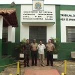 Delegado do Serviço Militar visita Carangola e Região