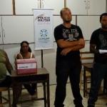 CONSEP(Conselho de Segurança Pública) e 75ª Cia PMMG-Carangola promovem atividades no Distrito de Lacerdina.