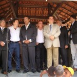 Ministro do Trabalho visita Manhumirim e participa de festividades
