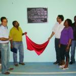 Prefeitura inaugura quadra esportiva no bairro Morada Nova