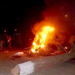 Moradores de Orizânia fecham BR 116 por 6 horas – Protesto