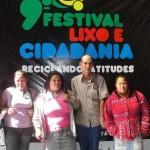 Trabalhadores da Usina de Triagem e Compostagem de Lixo de Manhumirim Participam do 9º Festival Lixo e Cidadania em Belo Horizonte.