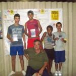 Manhumiriense é campeão da Copa Integração de Tênis de Mesa em Cataguases.