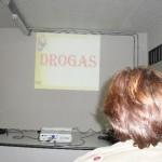 Instrutores do PROERD de Carangola ministram palestras sobre drogas