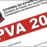 IPVA-Receita Estadual notifica veículos emplacados em outros estados.