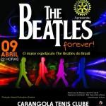 Beatles Forever se apresenta em evento beneficente em Carangola-MG.