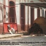 Construção de barraca para o Carnaval com forno a lenha põe em risco todo o acervo do Museu e Arquivo Histórico Municipal de Carangola