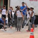 """""""Rua de Lazer"""", uma das ações do Projeto Caravana da Cidadania no Bairro Novos Tempos"""