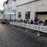 JCC (Jovens Construindo Cidadania) de Carangola participam da Campanha de Agasalhos 2011.