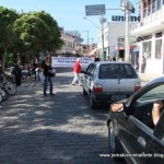 Professores da Rede Municipal de Ensino de Carangola realizam ato público