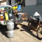 Operação conjunta Policia Militar e Policia Civil de Tombos faz prisão de autor de furtos e apreensão de materiais diversos.