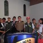 Policia Militar de Carangola finaliza as formaturas do PROERD neste 1º Semestre do ano de 2011.