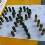 Policia Militar Rodoviária apreende grande quantidade de munições de uso das Forças Armadas.