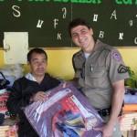 """Policia Militar de Carangola realiza a """"Campanha do Agasalho 2011"""""""