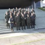Tiro de Guerra e Secretaria de Cultura visitam Academia Militar de Agulhas Negras.
