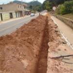 Manhumirim – Prefeitura e SAAE Começam obra importante de adução de água.