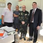 Ação conjunta embarcada das Policias Ambiental e Civil de Guaçui para combate a caça e pesca