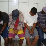 Assaltantes de taxista são capturados pela PM Rodoviaria e Pelotão de Tombos.