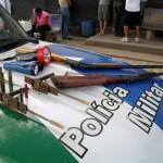 Policia Militar Ambiental prende caçadores com armas e munições no município de Mimoso do Sul
