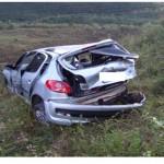 Policia Rodoviária Estadual resgata vítimas de acidente de trânsito em Carangola-MG.