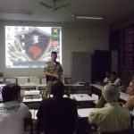 Policia Militar realiza reunião com membros do CONSEP, Orgãos Municipais e Entidades de Classe.