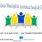 V Conferência Municipal de Assistência Social de Carangola.
